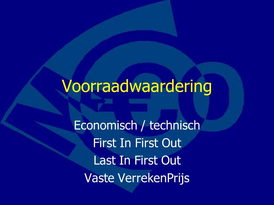 Economisch / technisch