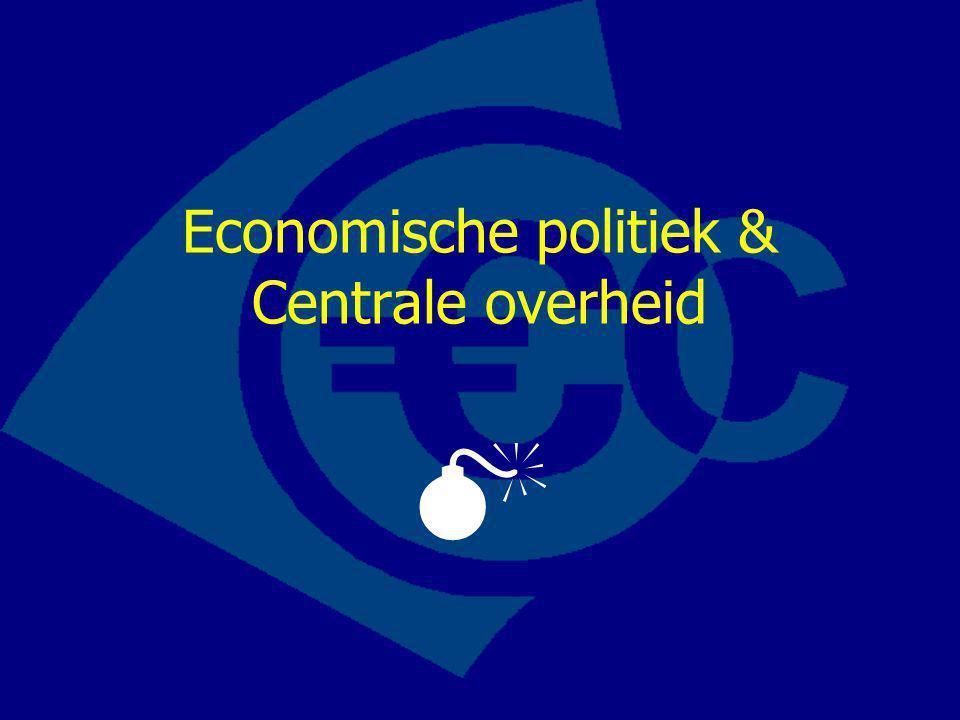 Economische politiek & Centrale overheid