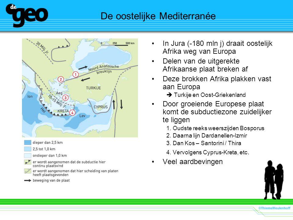De oostelijke Mediterranée