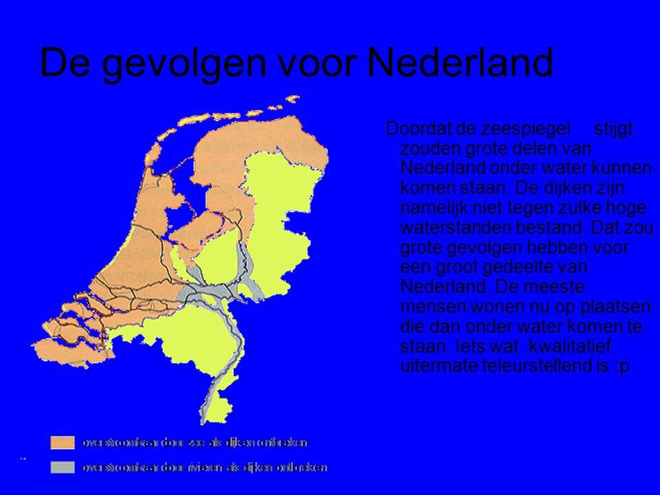 De gevolgen voor Nederland