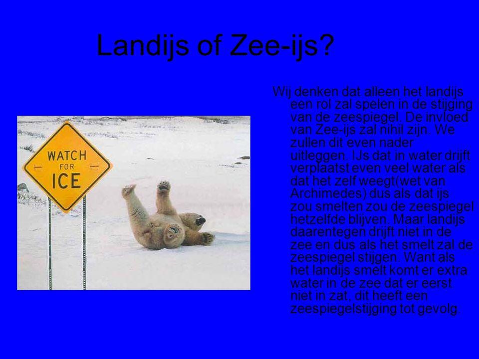 Landijs of Zee-ijs
