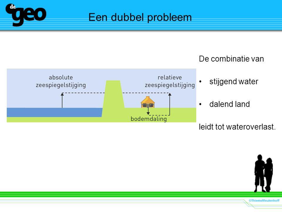Een dubbel probleem De combinatie van stijgend water dalend land