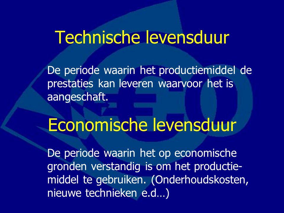 Technische levensduur