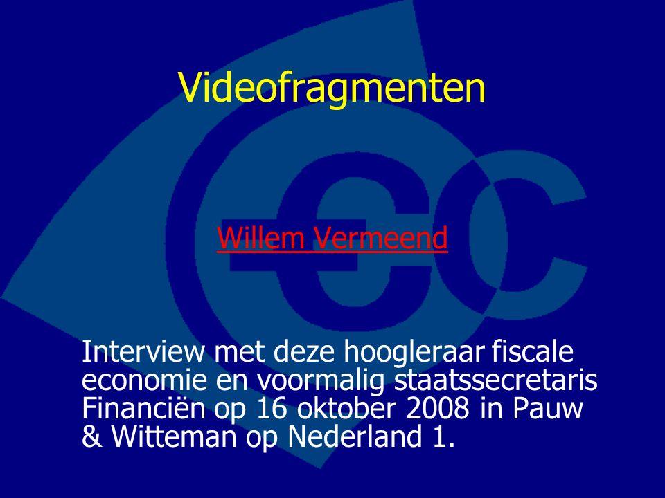 Videofragmenten Willem Vermeend