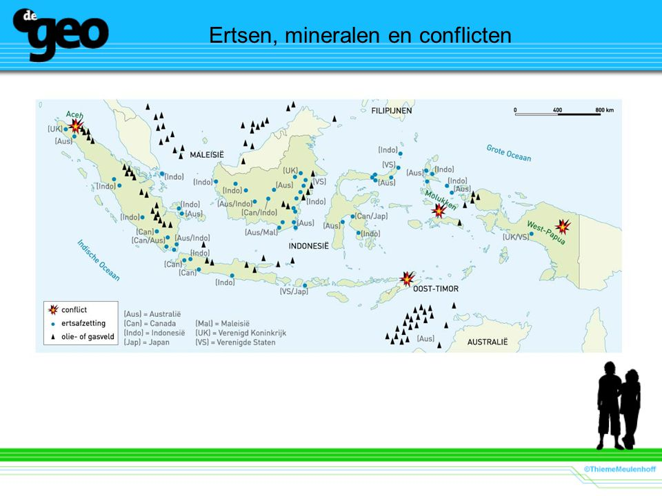Ertsen, mineralen en conflicten