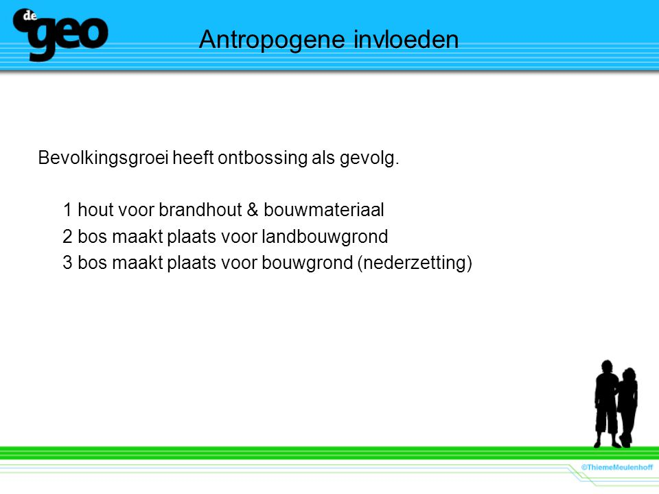 Antropogene invloeden