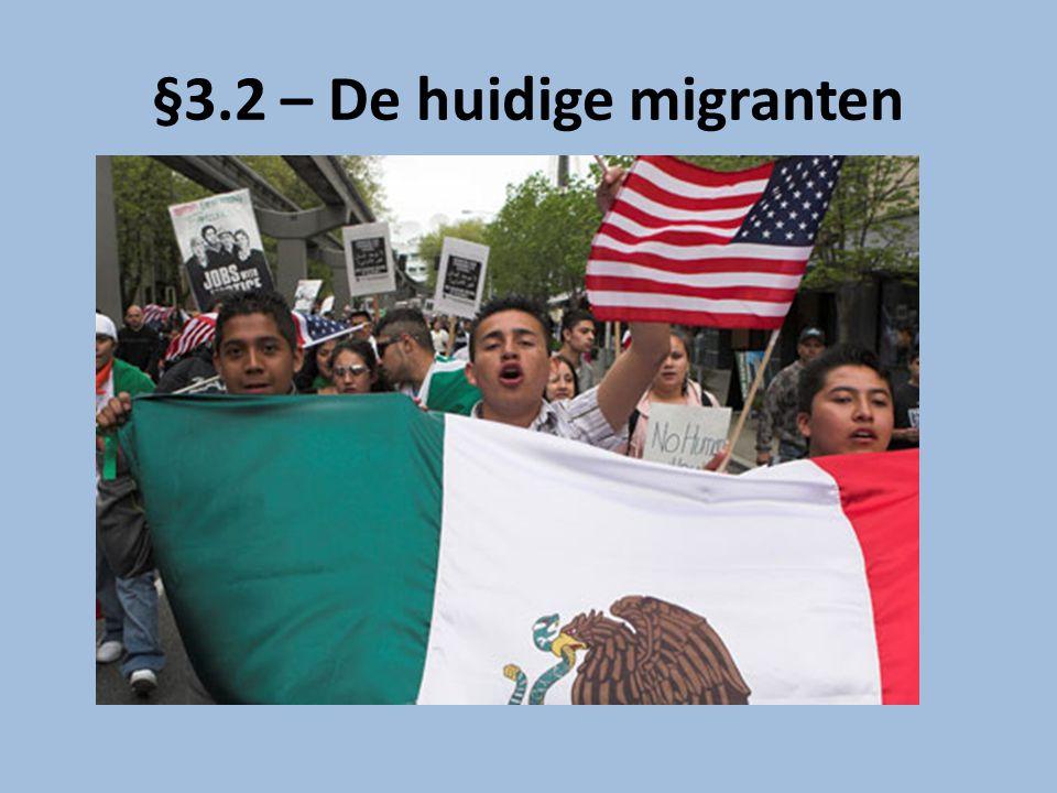 §3.2 – De huidige migranten