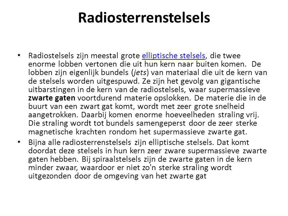 Radiosterrenstelsels