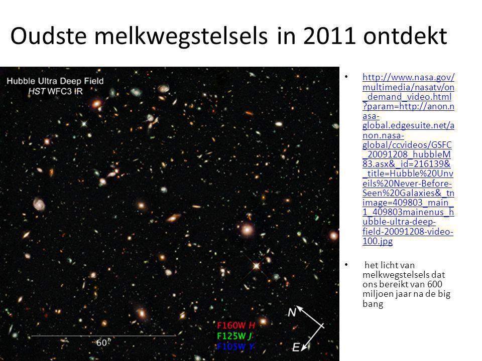 Oudste melkwegstelsels in 2011 ontdekt