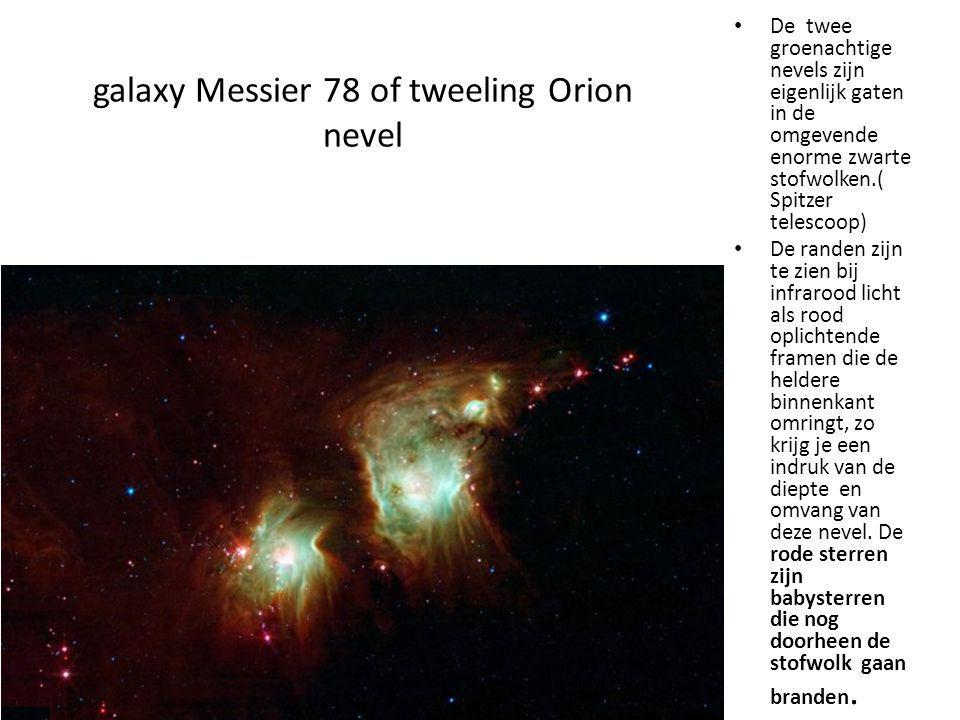 galaxy Messier 78 of tweeling Orion nevel