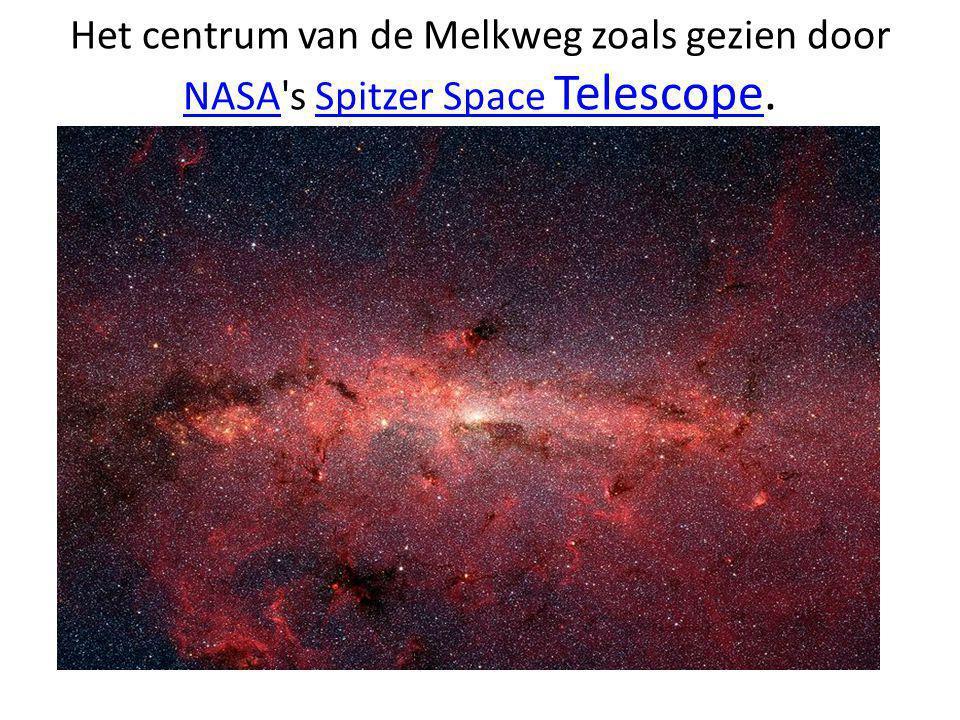 Het centrum van de Melkweg zoals gezien door NASA s Spitzer Space Telescope.