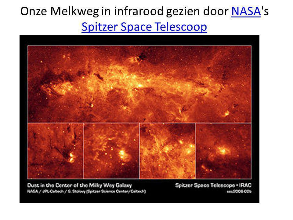 Onze Melkweg in infrarood gezien door NASA s Spitzer Space Telescoop