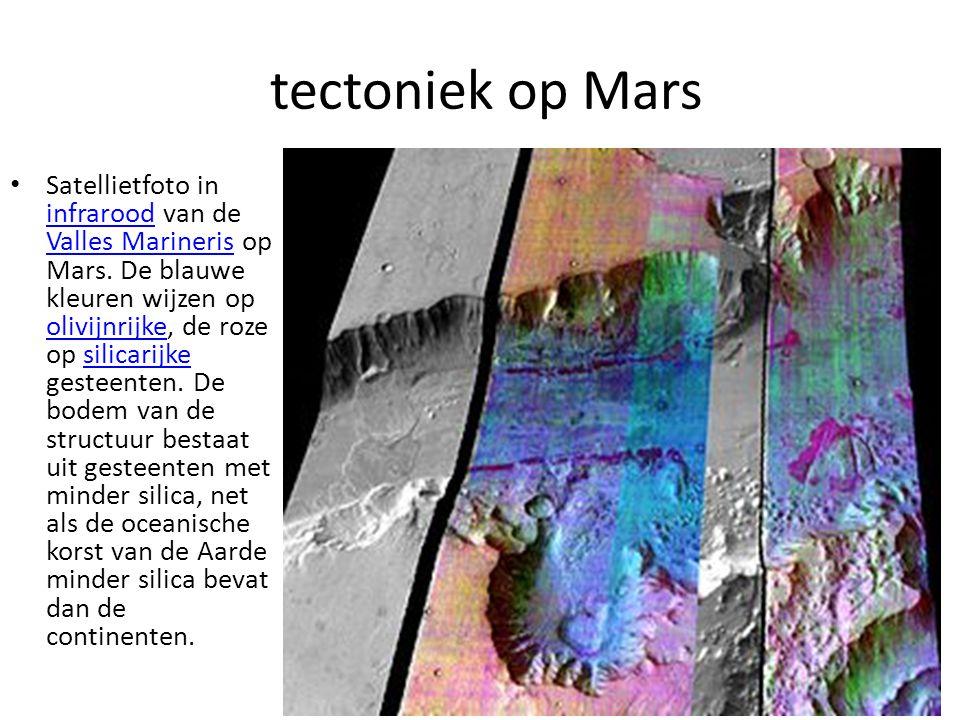 tectoniek op Mars