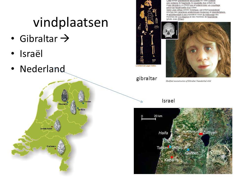 vindplaatsen Gibraltar  Israël Nederland gibraltar Israel