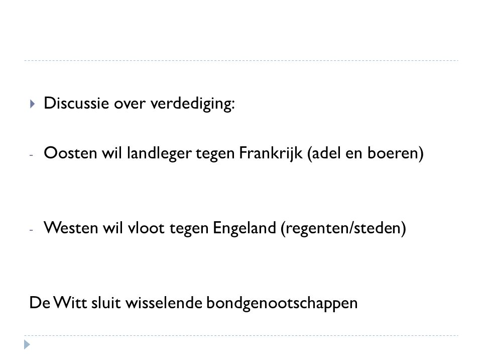 Discussie over verdediging: