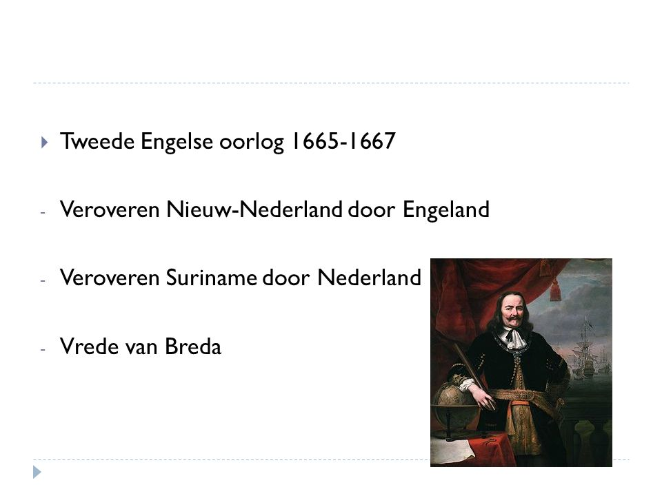 Tweede Engelse oorlog 1665-1667
