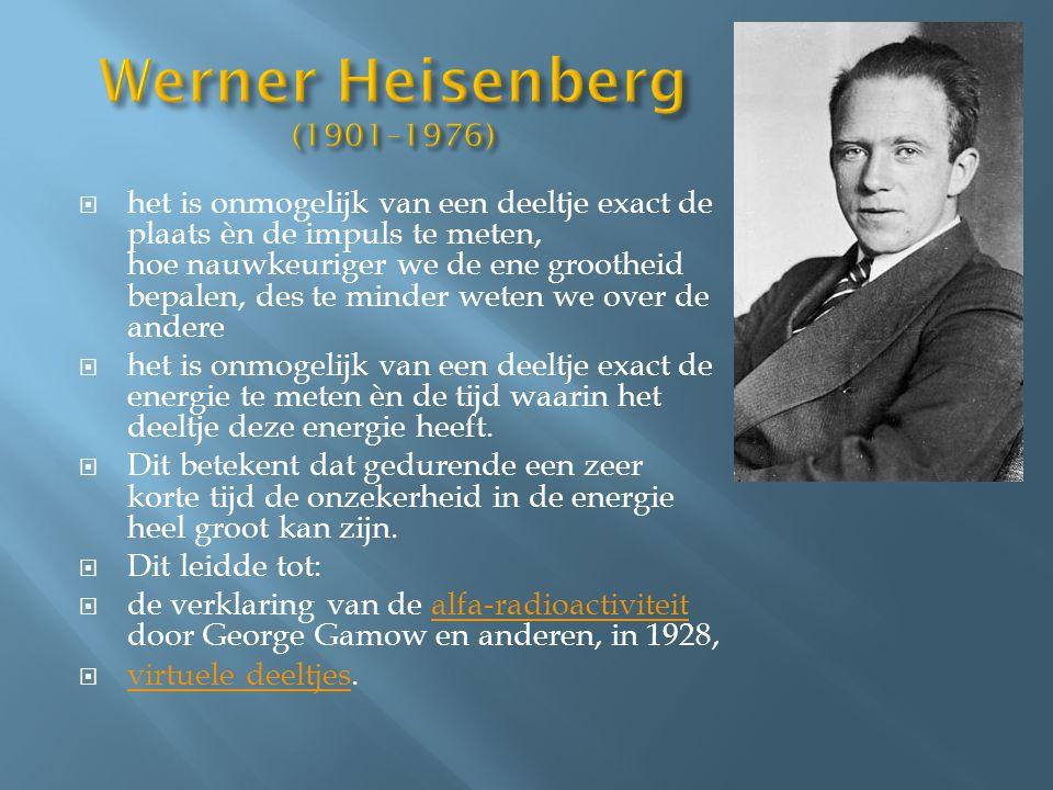 Werner Heisenberg (1901–1976)