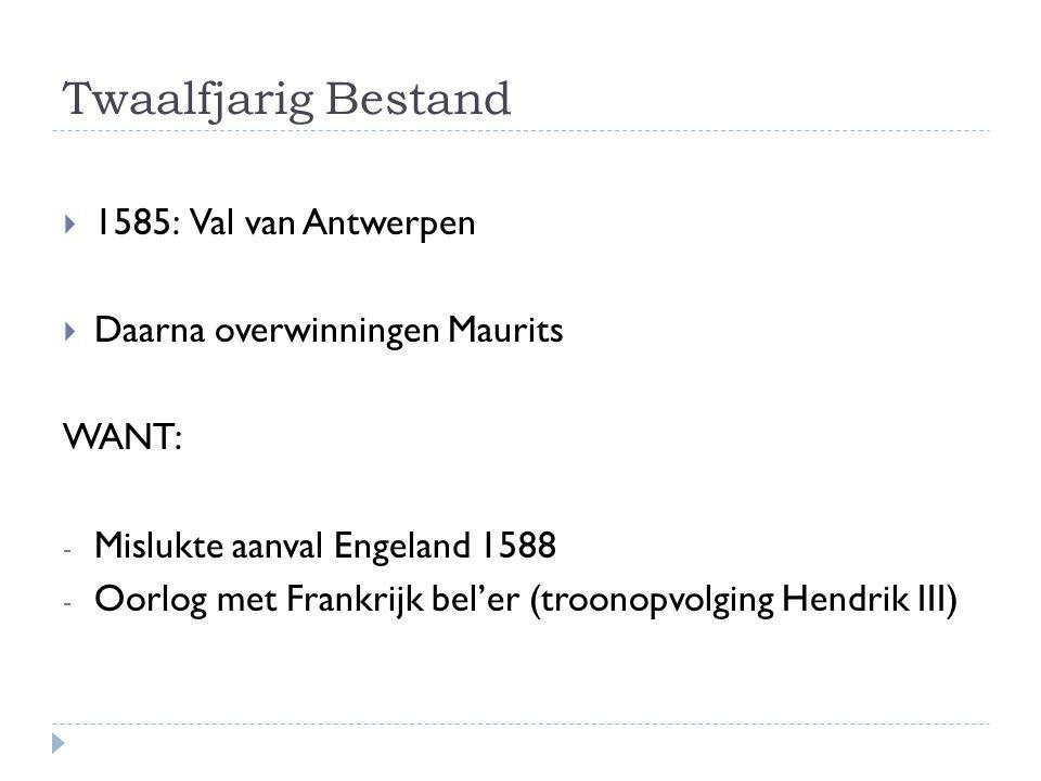 Twaalfjarig Bestand 1585: Val van Antwerpen