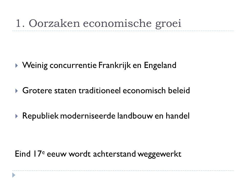 1. Oorzaken economische groei