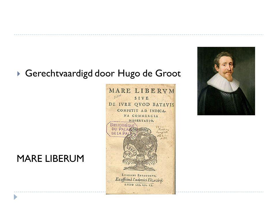 Gerechtvaardigd door Hugo de Groot