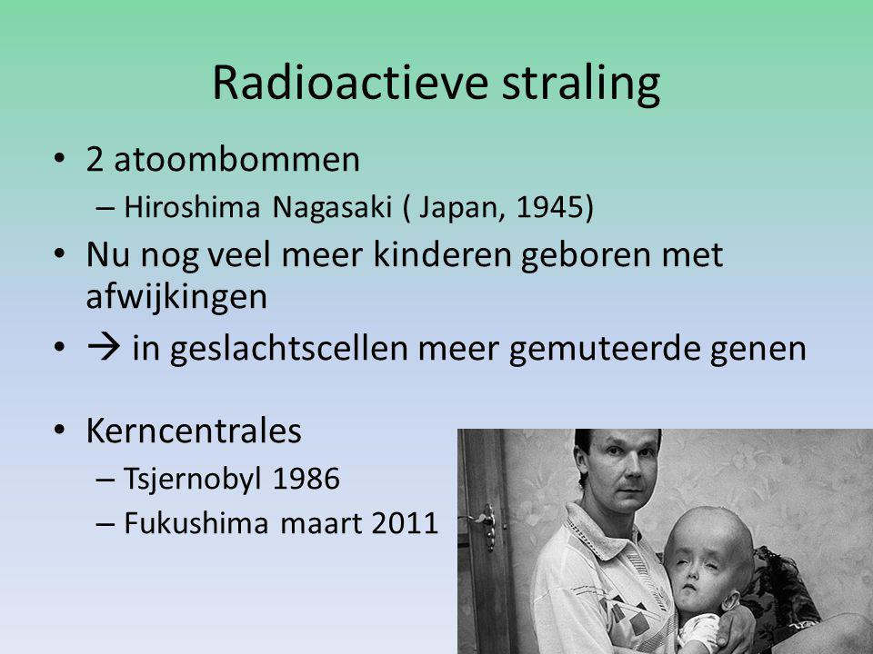 straling gevolgen nagasaki