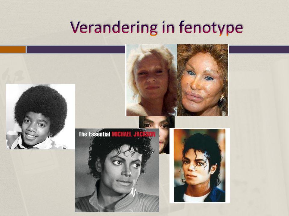 Verandering in fenotype