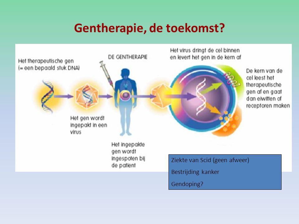 Gentherapie, de toekomst