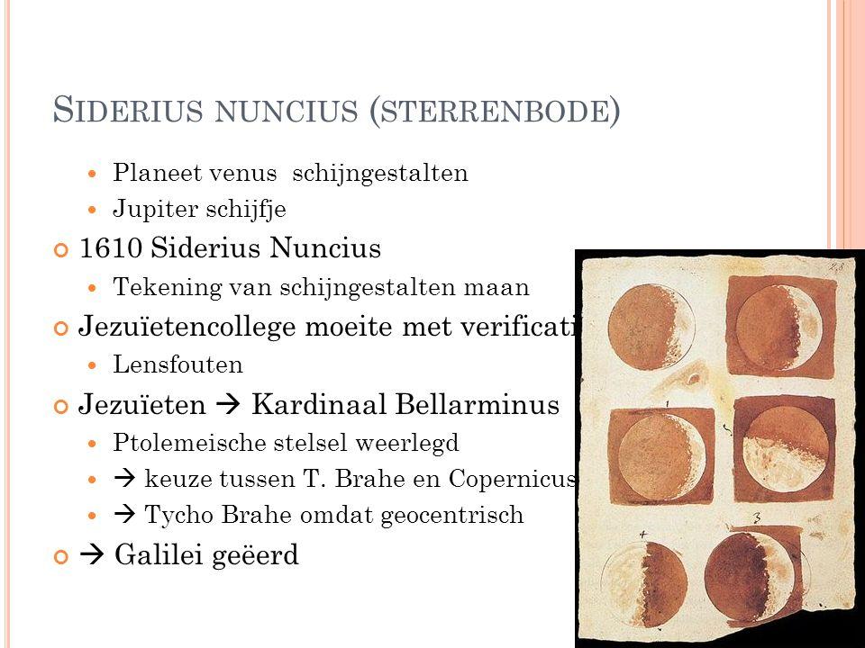 Siderius nuncius (sterrenbode)