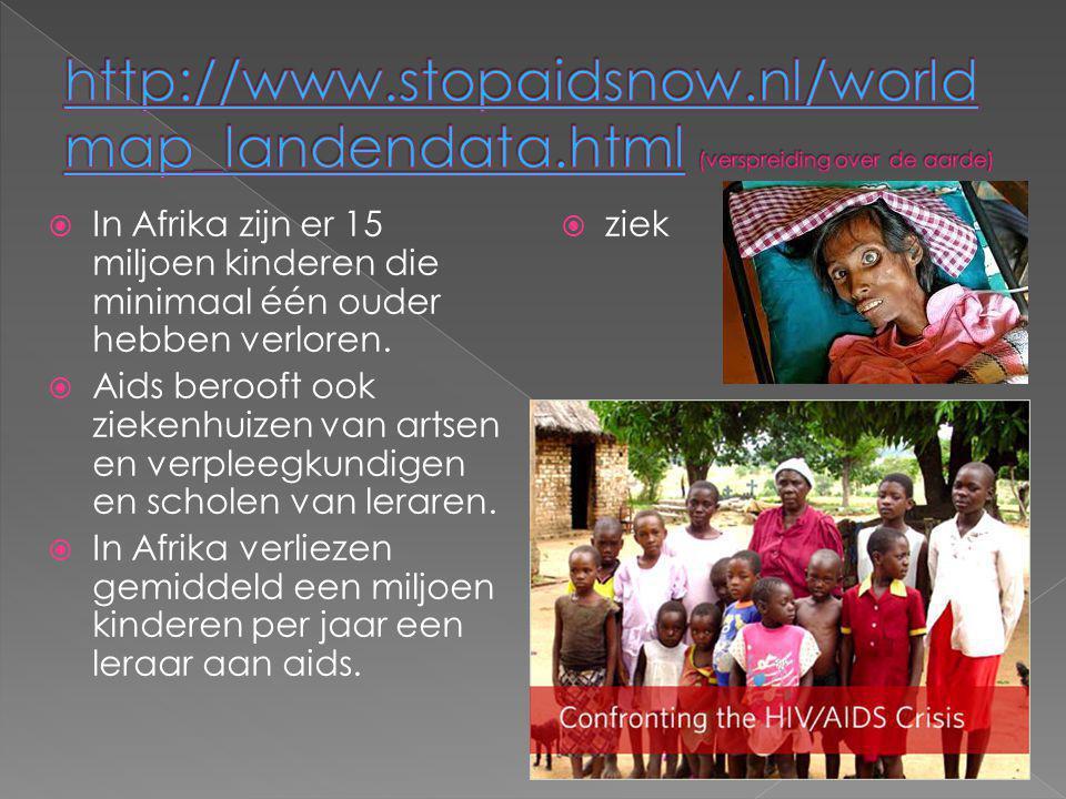 http://www. stopaidsnow. nl/worldmap_landendata
