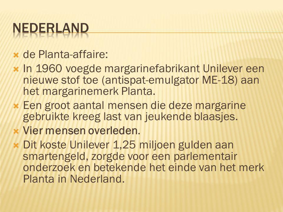 nederland de Planta-affaire: