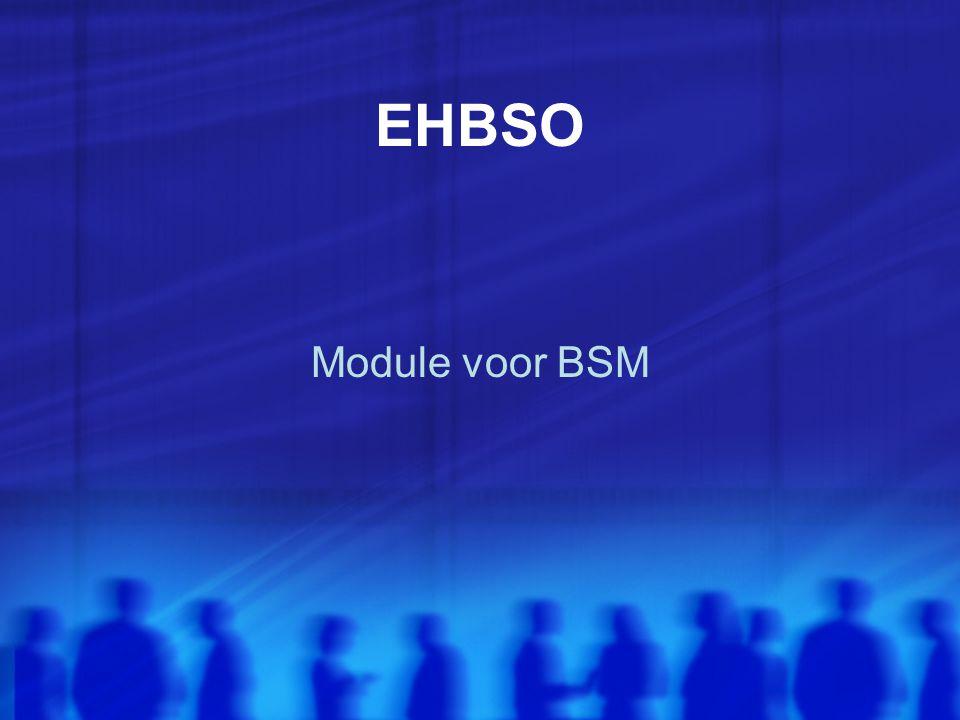 EHBSO Module voor BSM