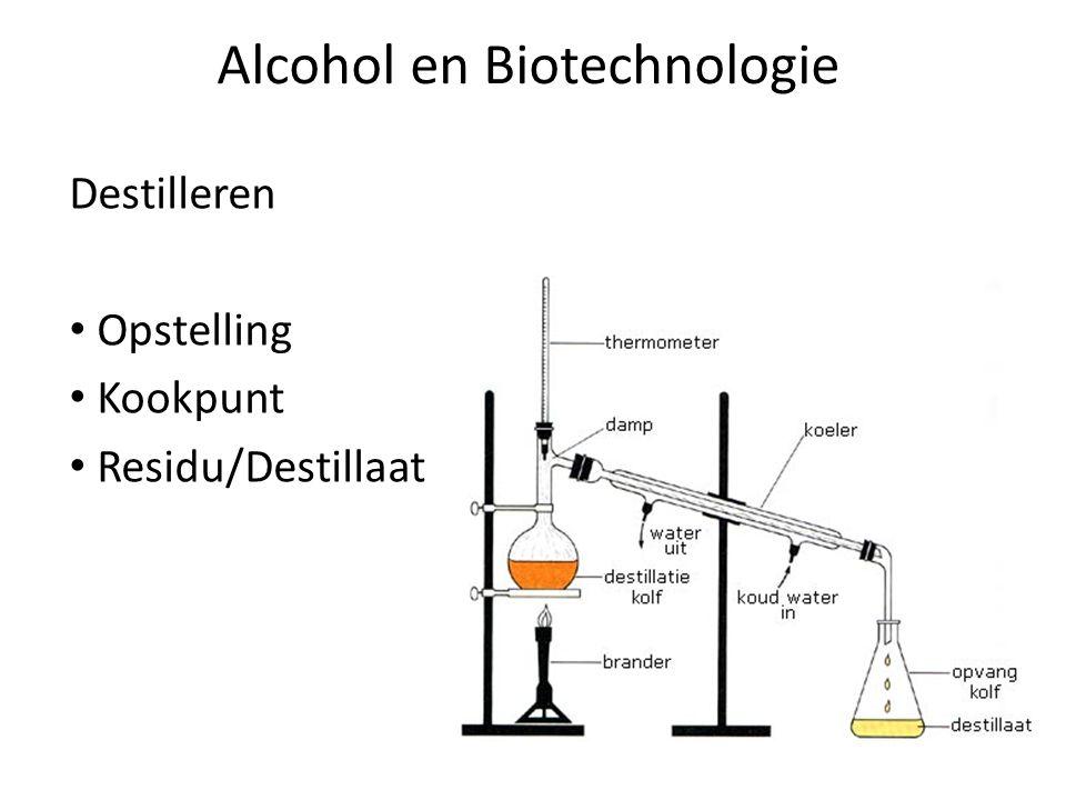 Alcohol en Biotechnologie