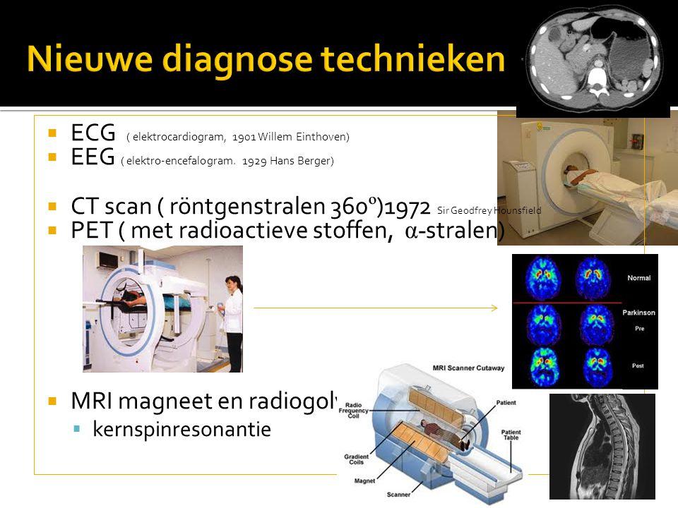 Nieuwe diagnose technieken