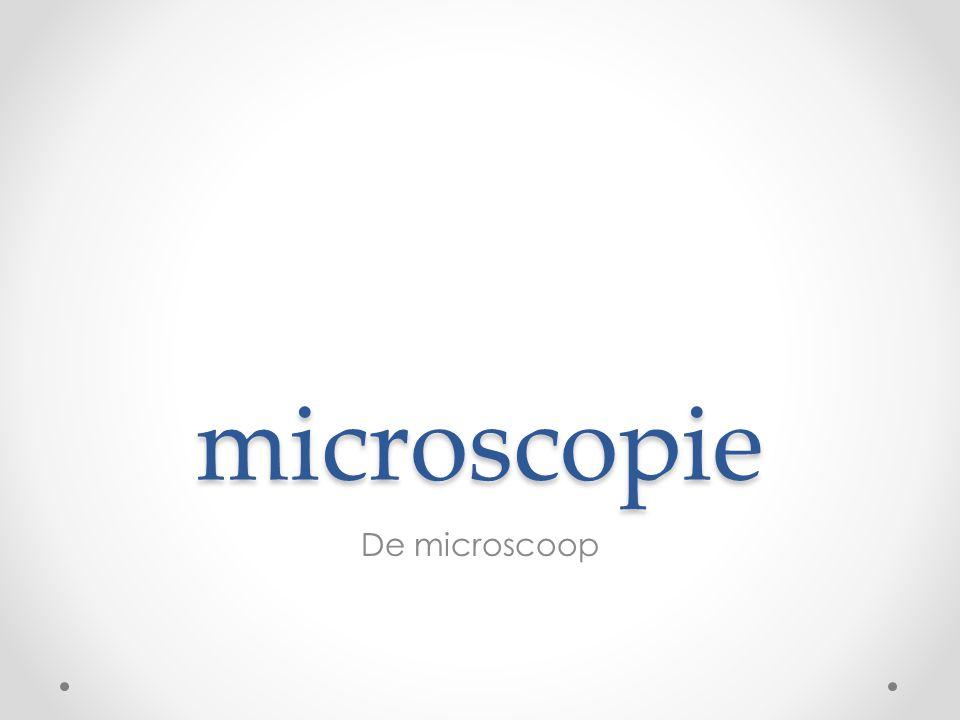 microscopie De microscoop
