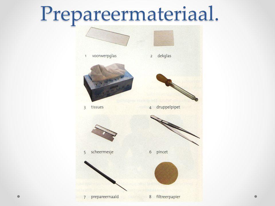 Prepareermateriaal.