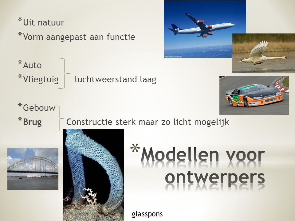 Modellen voor ontwerpers