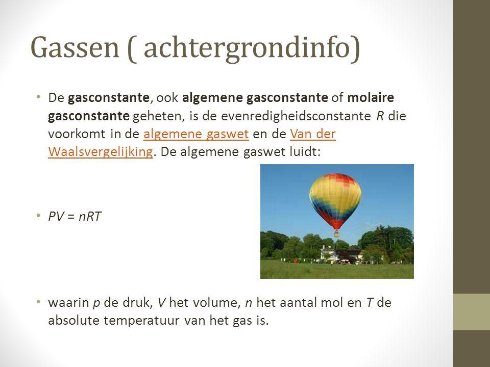 Gassen ( achtergrondinfo)