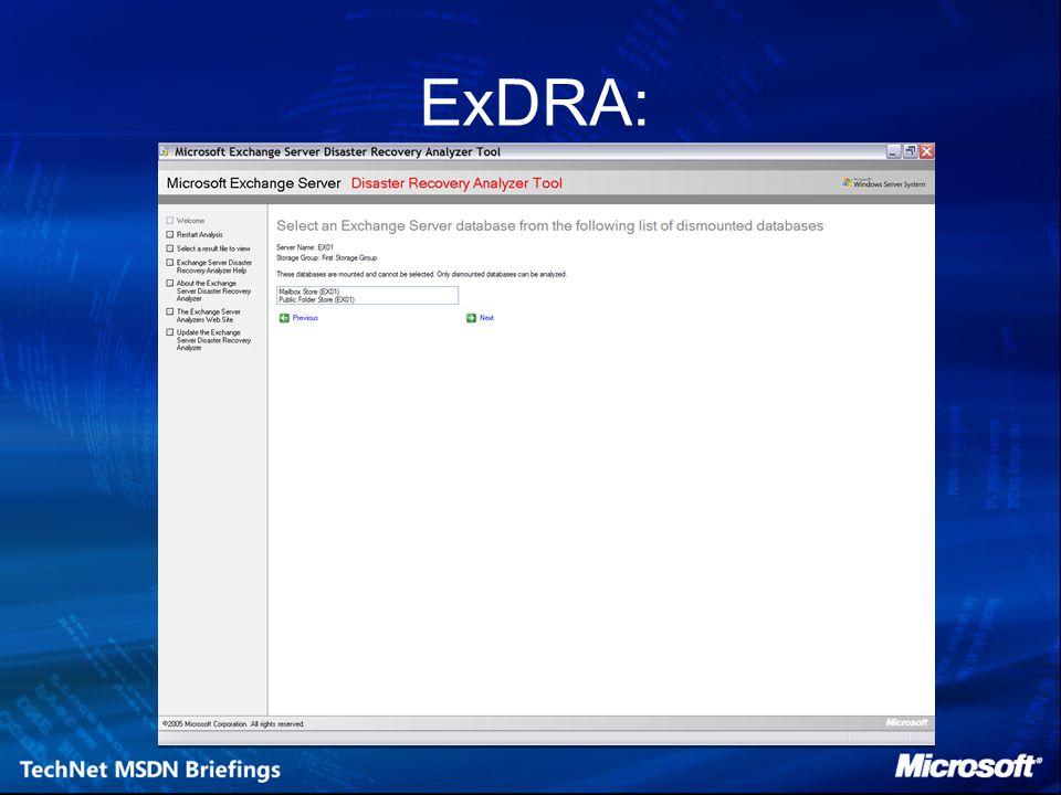 ExDRA: