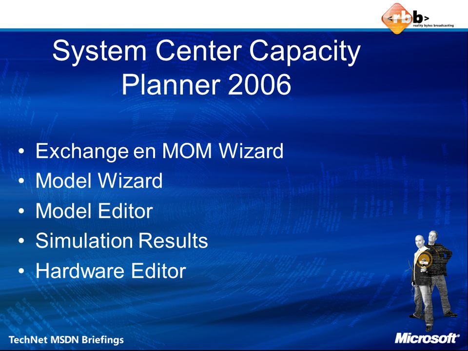 System Center Capacity Planner 2006