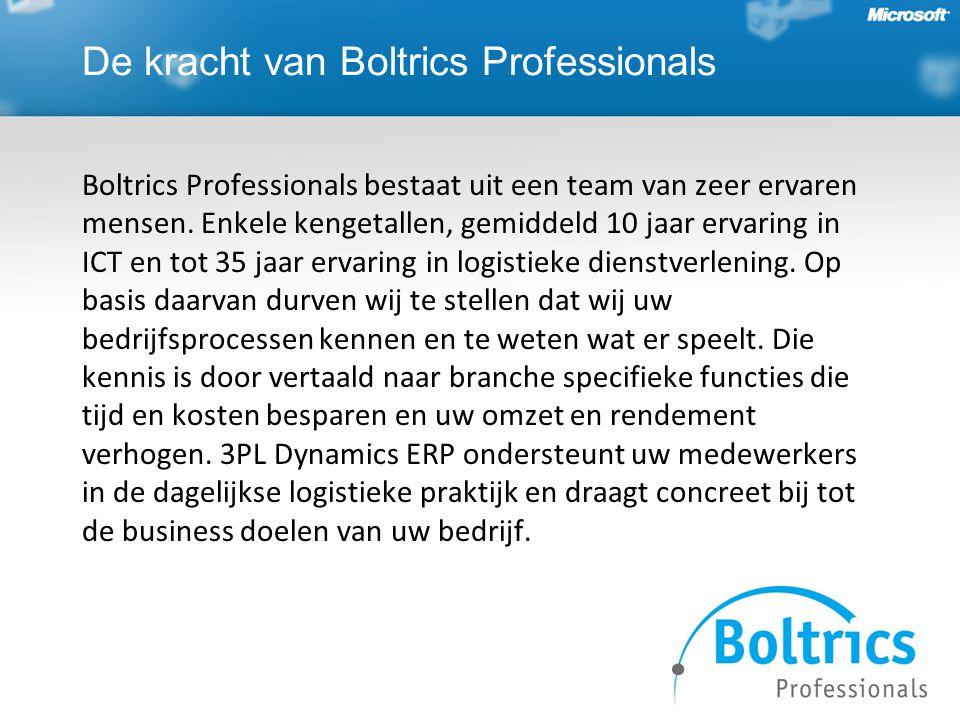 De kracht van Boltrics Professionals