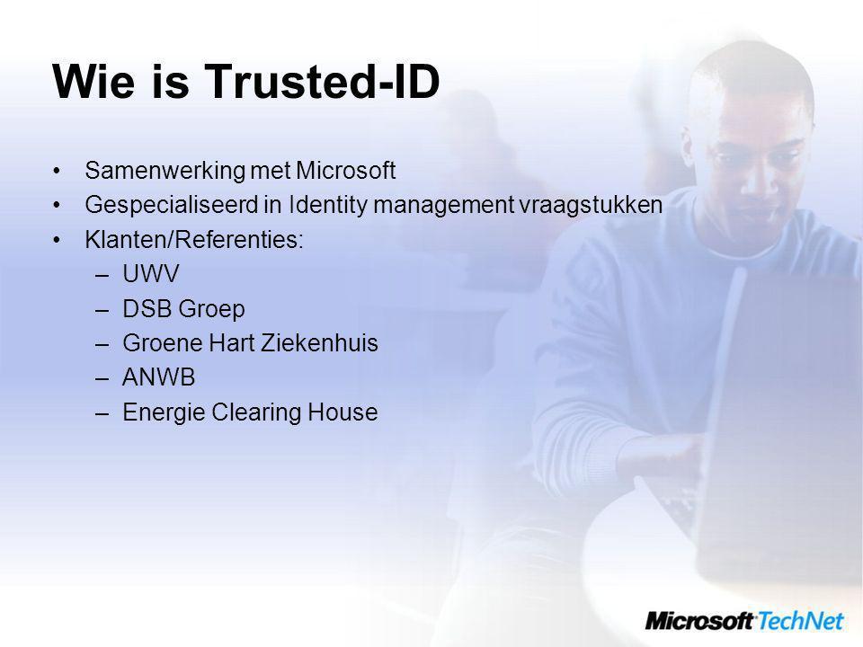Wie is Trusted-ID Samenwerking met Microsoft