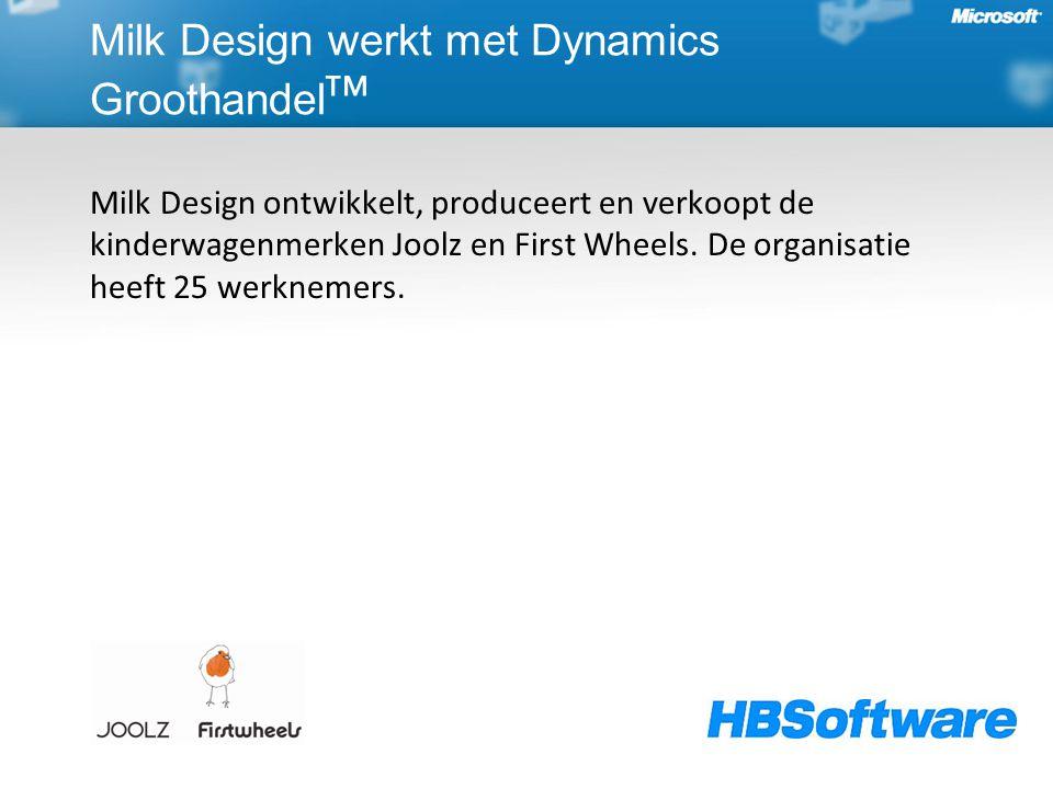Milk Design werkt met Dynamics Groothandelᵀᴹ