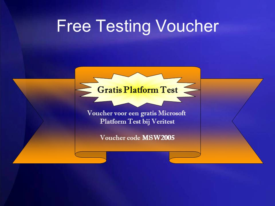 Free Testing Voucher Gratis Platform Test