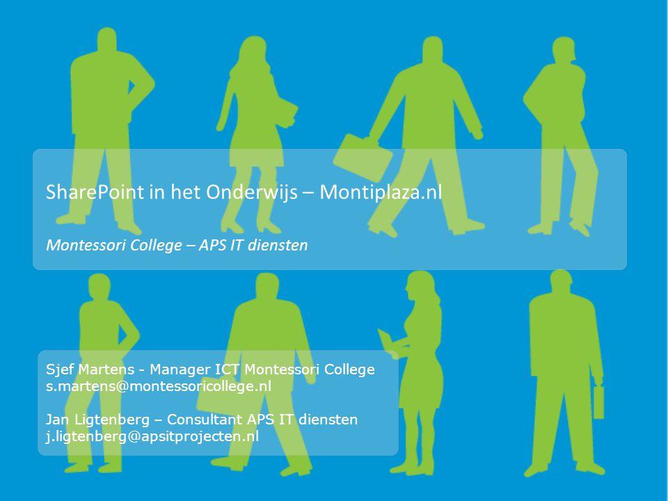 SharePoint in het Onderwijs – Montiplaza.nl