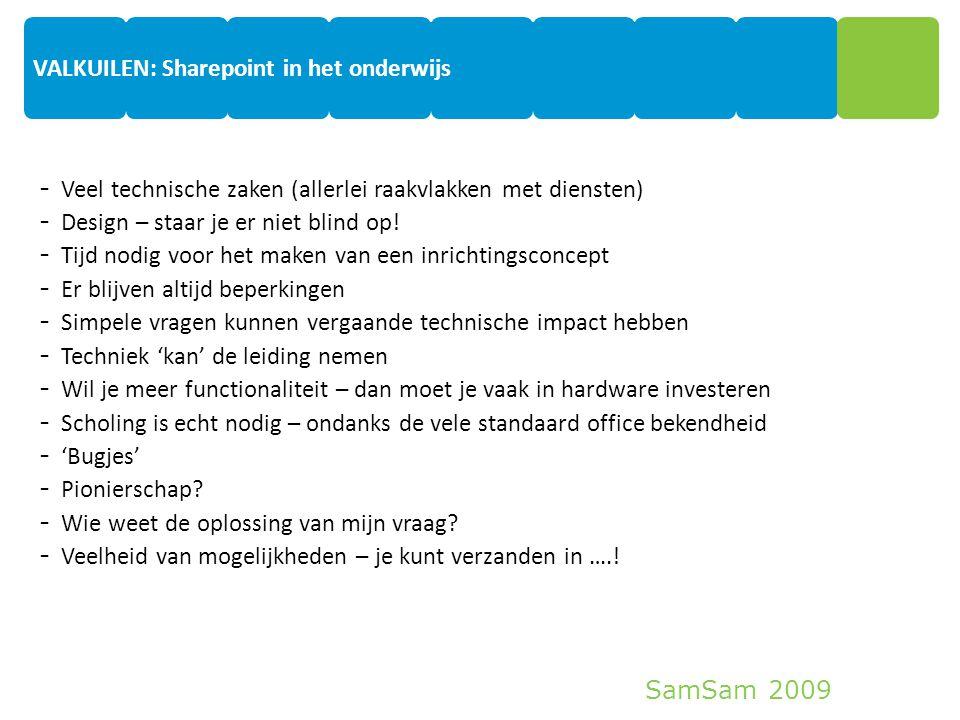 VALKUILEN: Sharepoint in het onderwijs