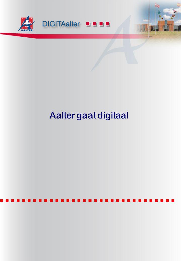 Aalter gaat digitaal