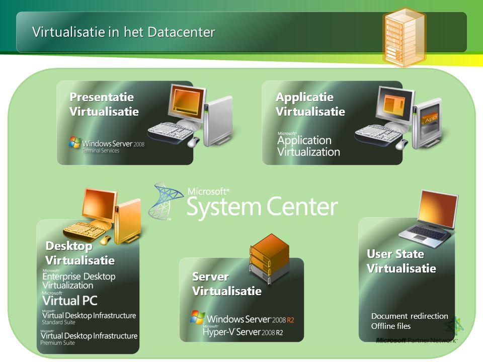 Virtualisatie in het Datacenter
