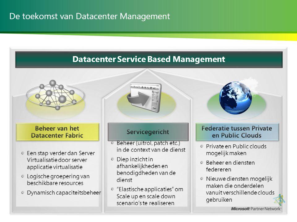 De toekomst van Datacenter Management