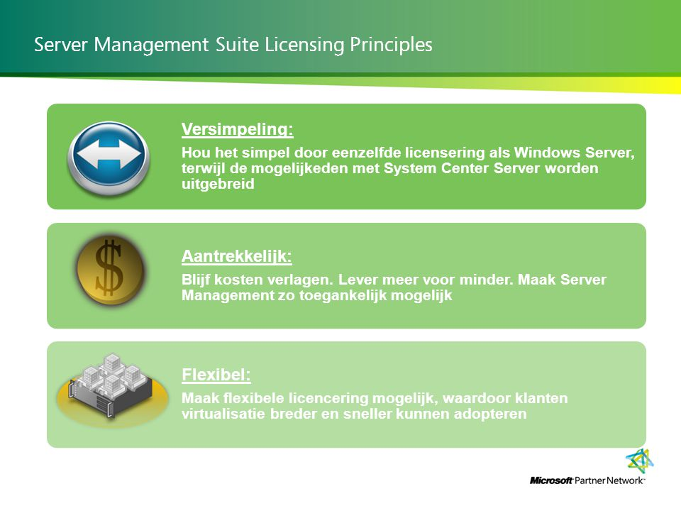 Server Management Suite Licensing Principles