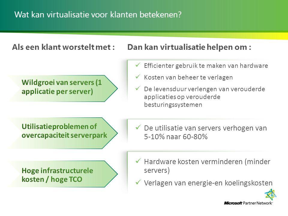Wat kan virtualisatie voor klanten betekenen